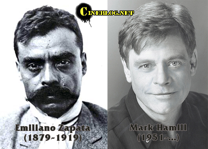 Emiliano Zapata & Mark Hamill (Cineblog)